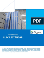 Ficha Tecnica Placa Std - Sistema Gyplac