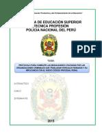Monografia Traslado de Vehiculo Robados y Su Implicancia en El Codigo Procesal Penal