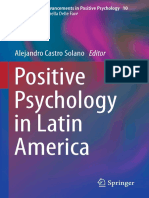 (Cross-Cultural Advancements in Positive Psychology 10) Alejandro Castro Solano (Eds.)-Positive Psychology in Latin America-Springer Netherlands (2014)