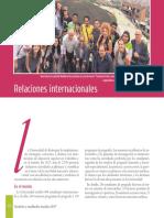Gestión Resultados Sociales 2017 Relaciones Internacionales