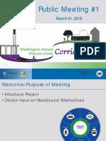 Washington Ave Albany Corridor Study Opening Public Meeting Presentation Slides