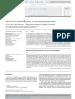 Interacciones farmacológicas de los anticuerpos monoclonales