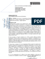 CASO PEDRO PABLO KUCZYNSKI (Resolución sobre la programación de audiencia para analizar pedido de impedimento de salida del país)
