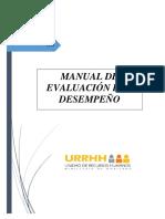 02 Manual de Ev. Desempeño 2018