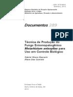 Produção de Fungo Entomopatogenico