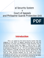 SSS v. CA and Philippnes Guards
