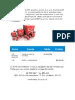 La Empresa Macondo SAS Aprobó en Reunión de La Junta Directiva Del 25 de Noviembre Del 2015 Un Crédito Por