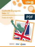 Cuadernillo de Preguntas Saber 11- Inglés