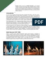 Reseña Del Ballet