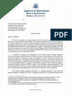 Cardenas Letter to DOJ Delrahim