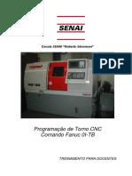 Apostila de Torno CNC - SENAI Brás