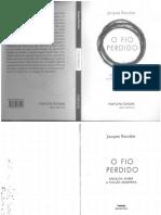 O Fio Perdido, jacques rancière.pdf
