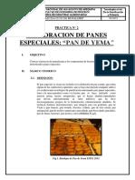 Practica n 2 Elaboracion de Panes Especiales- Pan de Yema