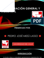 Administración General y Industrial- Presentación en Power Point - Pedro José Mezú Lasso. Pdf