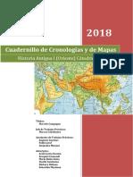 Cuadernillo de Cronologías y de Mapas 2018