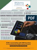 Epgdm in Business Analytics Brochure