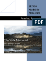 SR 530 Muslide Memorial Funding Request