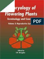 Embriologija cvjetnica