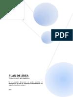 Plan de Area Tecnologia 2015