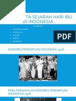 Teks Cerita Sejarah Hari Ibu Di Indonesia