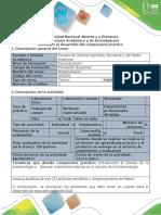 Guía de actividades y rubrica de evaluación - Paso 3 - Realizar una Matriz de trabajo práctico sobre artículos científicos.pdf