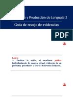 Delimitación del problema y recojo de evidencias 2018_1_1_