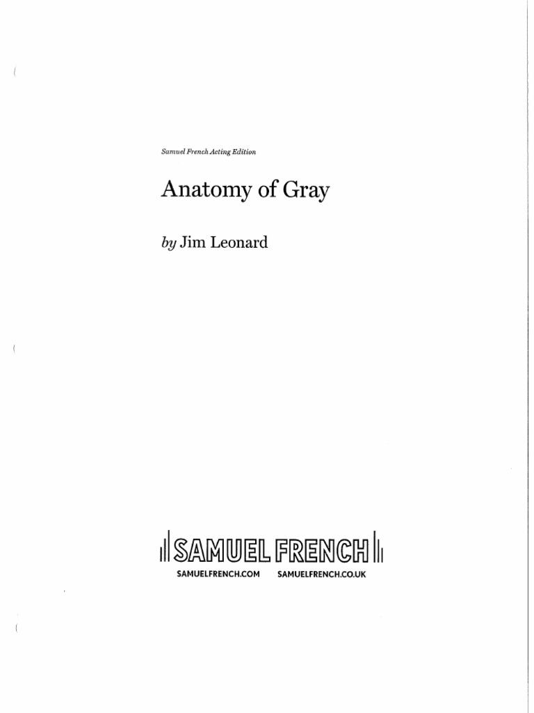 Anatomy of Gray Script