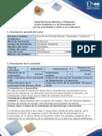 Guía de Actividades y Rúbrica de Evaluación - Fase 2 - Desarrollar.
