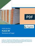Ficha Tecnica Placa Rf - Sistema Gyplac