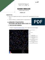 Laboratorio Virtual Gases Ideales