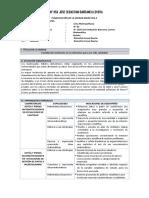 Unidad Didactica del Area Curricular de Matematica 5° Secundaria Ccesa007