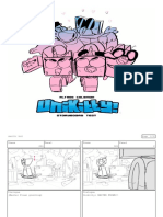 Unikitty Storyboard Test