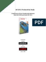 Auto Cad 2011 Productivity Study
