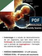 1a Aula - Noções Embriologia e Sist Reprod