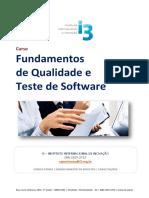 Prop.fundamentos de Qualidade e Teste de Software Set
