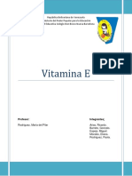 Quimica Trabajo Final Vitamina e