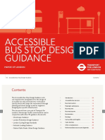 Bus Stop Design Guidance