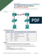 6.2.4.5 Lab - Configuring IPv6 Static and Default Routes - ILM