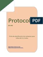 Protocolo Para La Nueva Ficha de Planificación de Contextos de Ciclo I-14!10!17-1