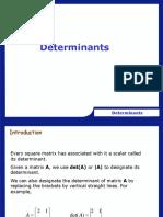 Lec 8 Determinants