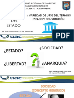 Doctrina Del Estado Primer Equipo