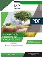 Tecnologia Ambiental en La Arquitectura - Aliaga Fernandez Richard