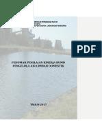 Draft Buku Pedoman Penilaian Kinerja BUMD Pengelola Air Limbah Domestik