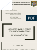 Equipo No. 2 Doctrina Del Estado