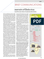 Fruit Bats as Reservoirs of Ebola Virus