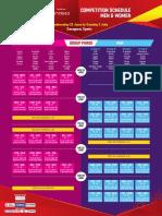 FIBA U17 World Championships 2016 Competition Schedule 2016-06-26