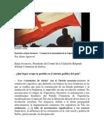 """Entrevista a Dejan Jovanovic """"Creemos en El Renacimiento de La Yugoslavia Socialista"""""""