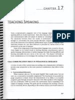 Brown - Ch. 17 - Teaching Speaking