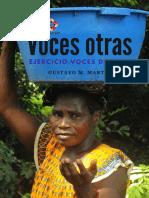 Ejercicio Voces Del Sur. Gustavo Martin. 2018