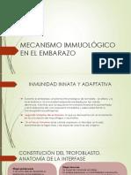 Mecanismo Immuológico en El Embarazo